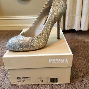 Michael Kors glitter shoes